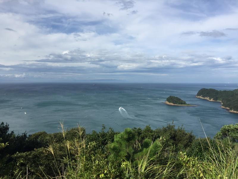 友ヶ島 展望台からの眺め