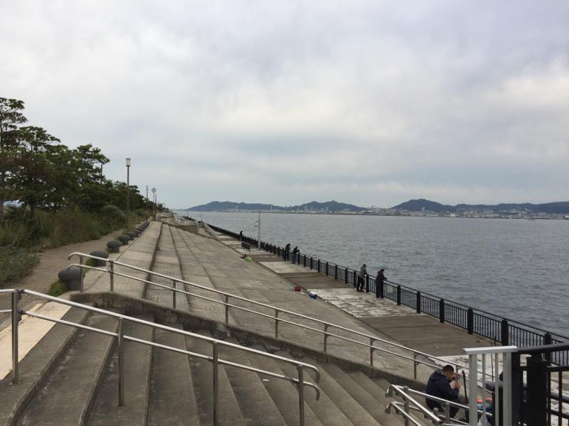 神戸空港 釣りポイント「ベランダ」