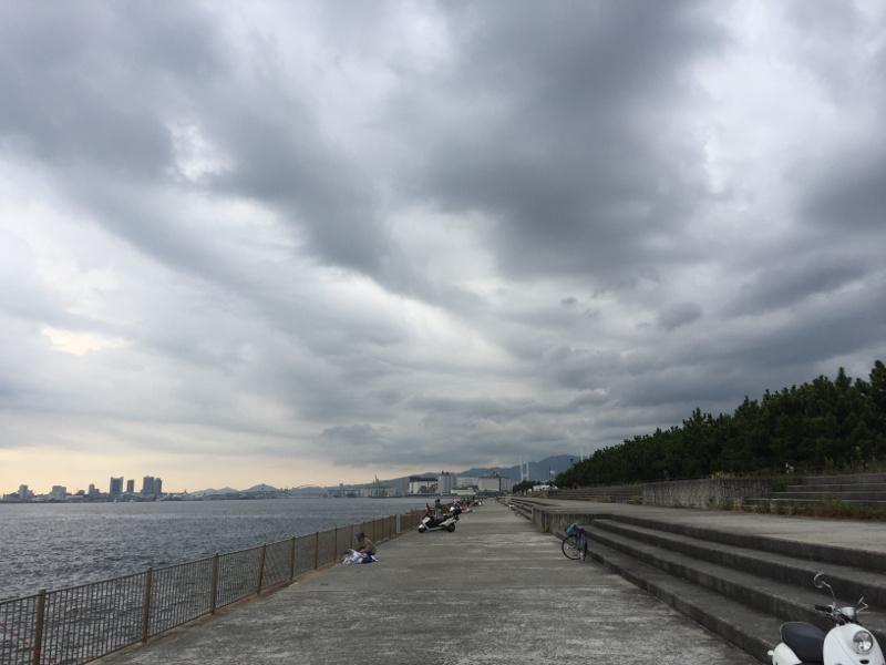 南芦屋浜ベランダ:西側方面