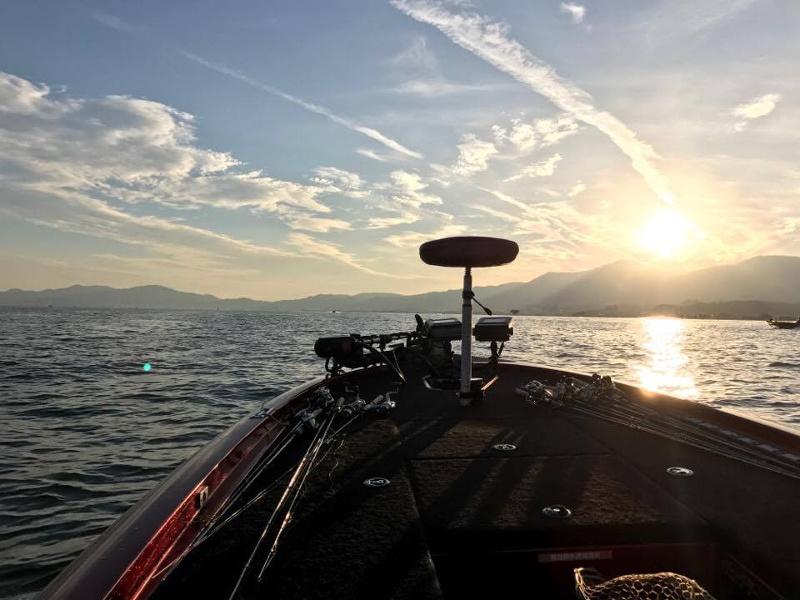 初めてのBASSボート@琵琶湖