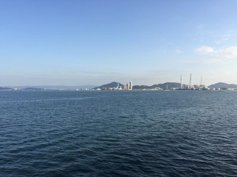 塩津漁港 沖向き