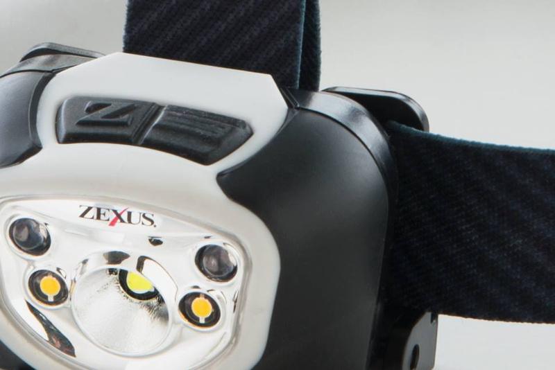 ZXR-260のライト部分