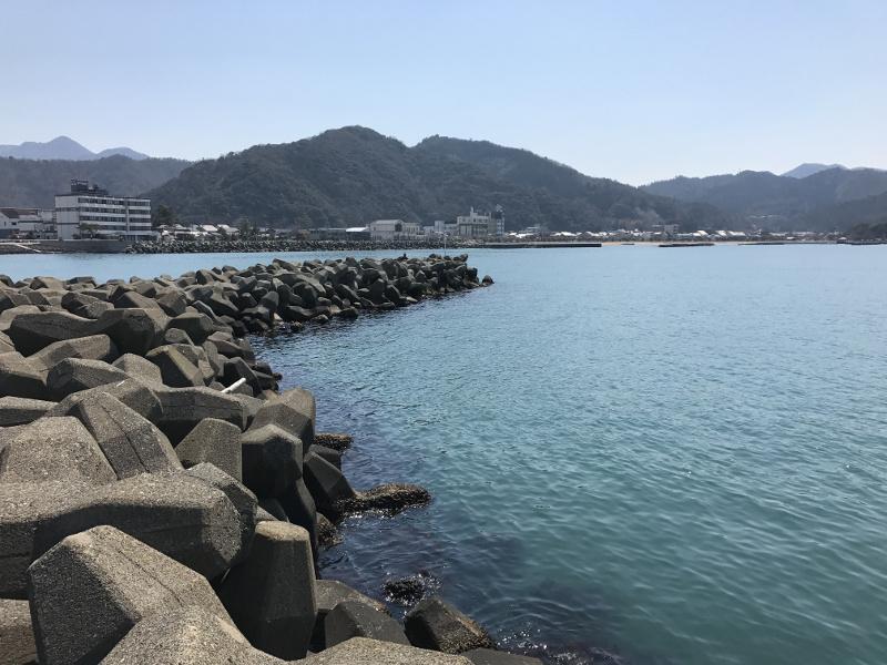 小浜新港釣りポイント①