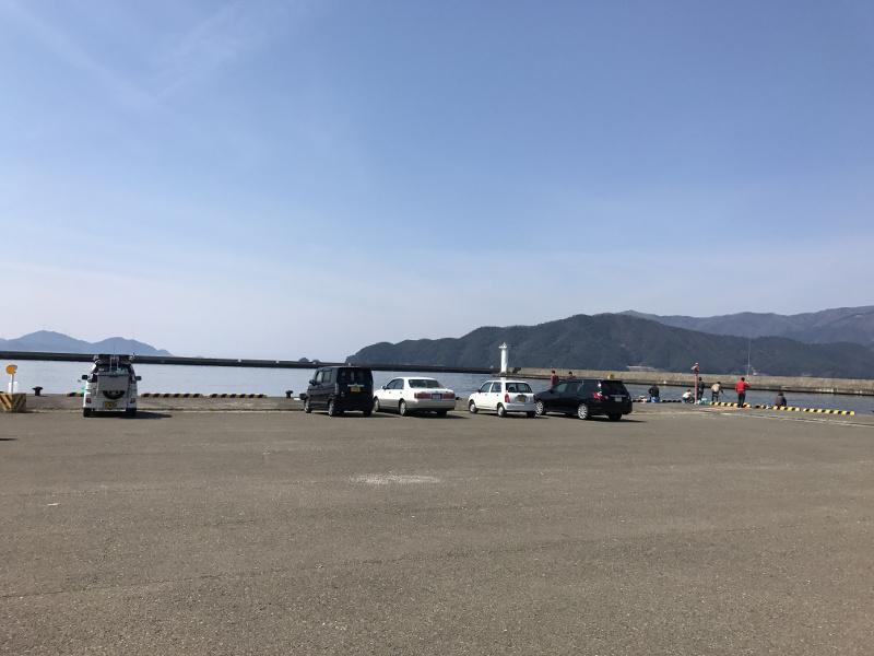 小浜新港 釣りポイント④:東側
