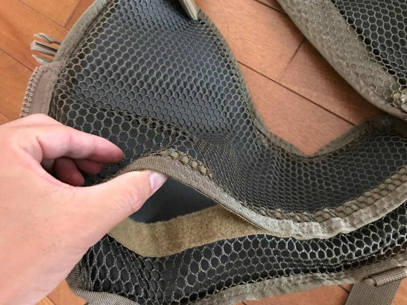 サブロック v-one vest:浮力体の入り口