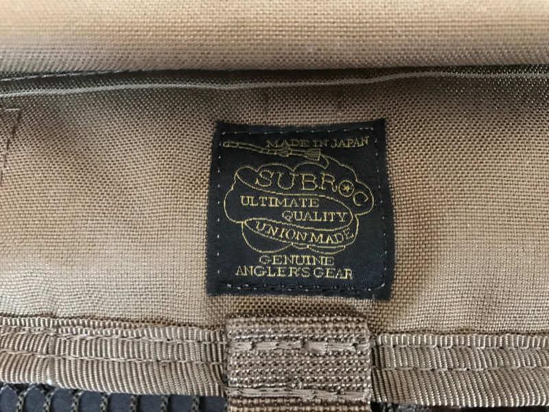サブロック v-one vest:ロゴ