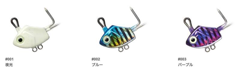 太刀魚テンヤ「GMショアテンヤ タイプT」のランナップ