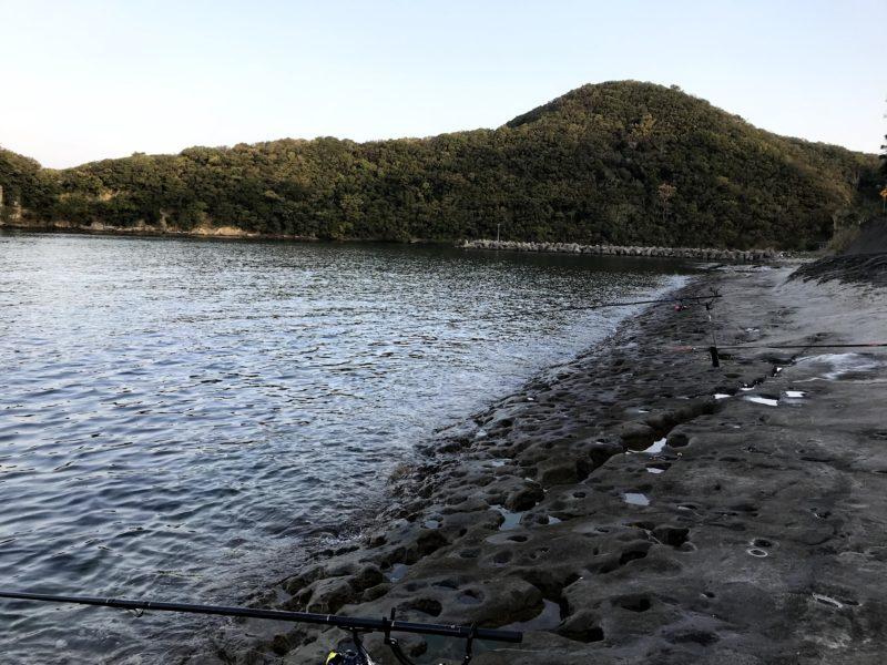 白浜の地磯(袋漁港近く)