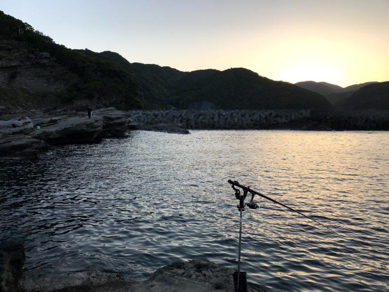 先端から漁港向き