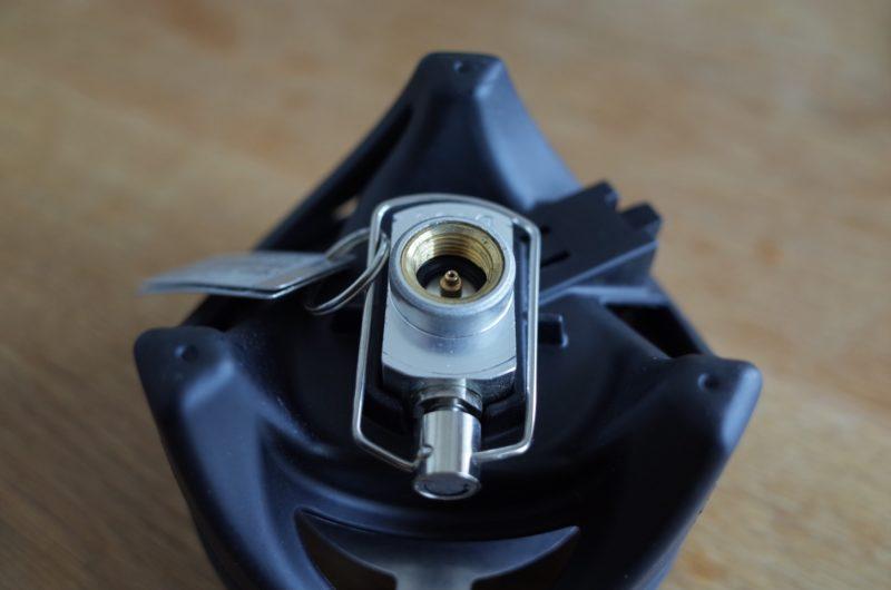[ジェットボイル]ガス缶接続部分