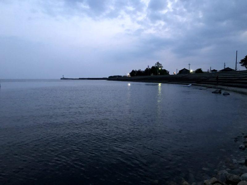 滑川周辺(早朝)