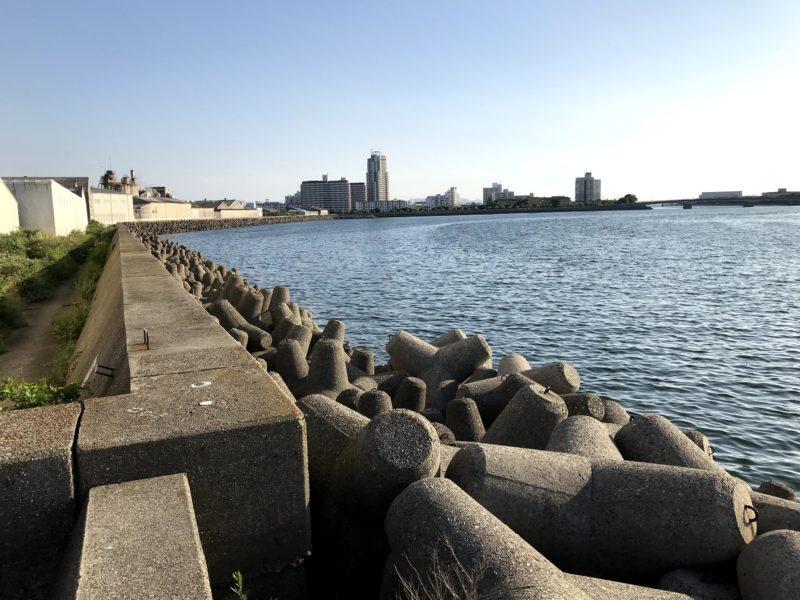 貝塚港周辺