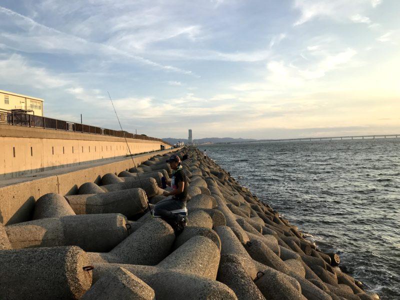 貝塚人工島(南向き)