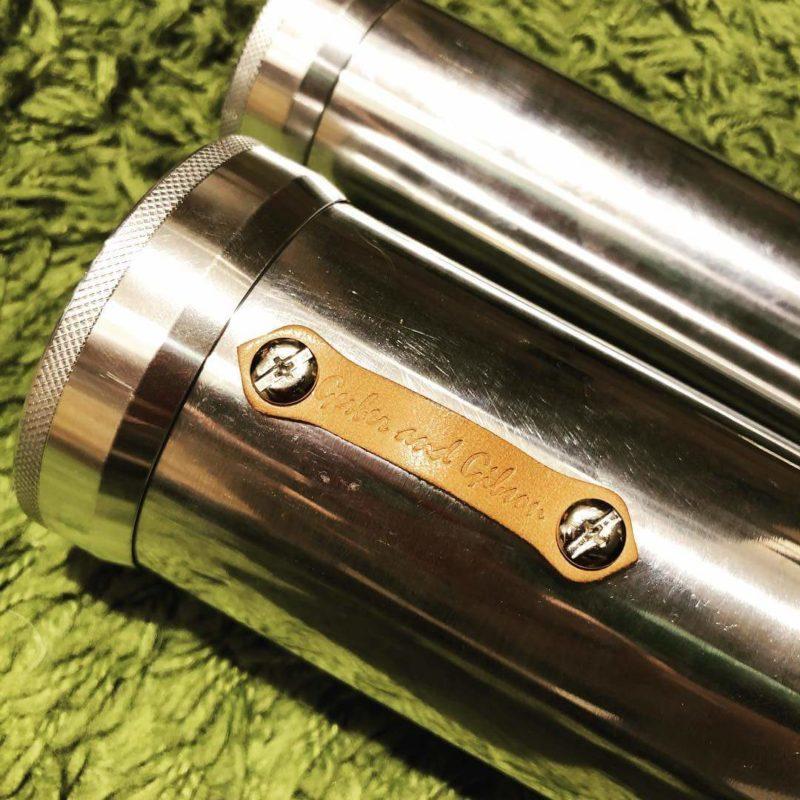 アルミ製のロッドホルダー