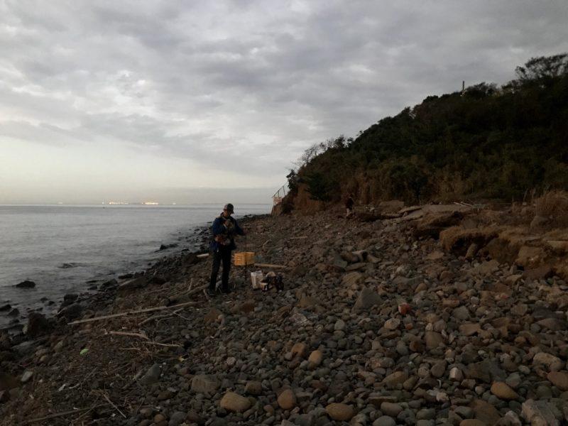 泉南のゴロタ浜