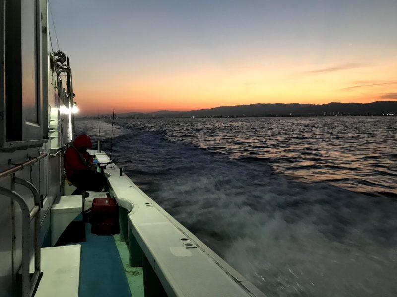 船タチウオのテンヤ釣り