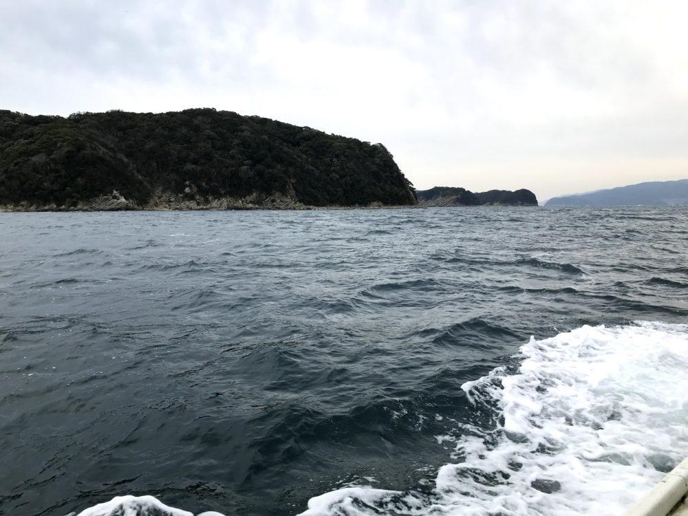 友ヶ島の近く