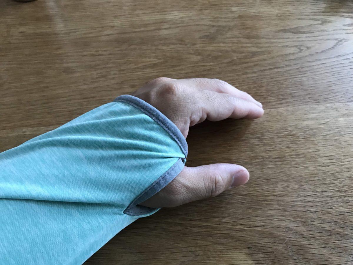 手の甲までカバーできます