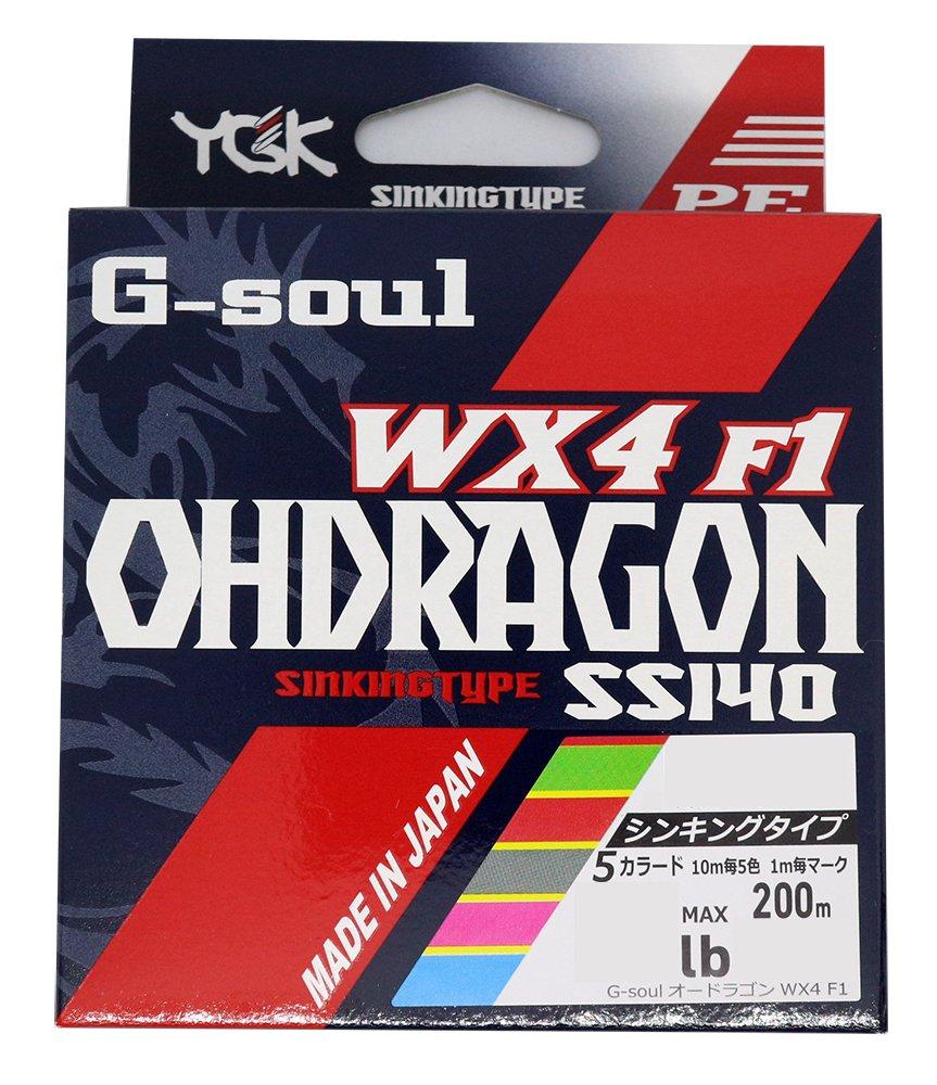 よつあみ(YGK) PEライン G-SOUL オードラゴン WX4F-1
