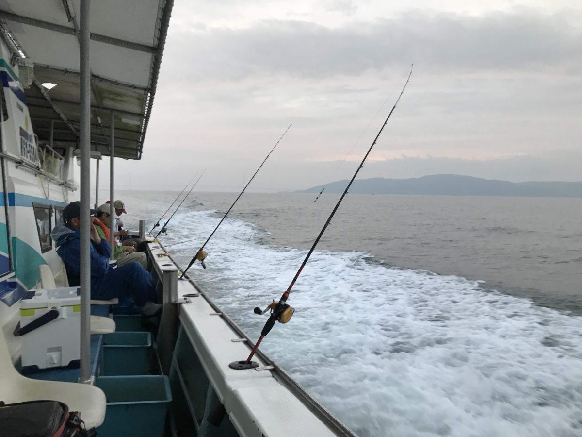 またまた船タコ釣り