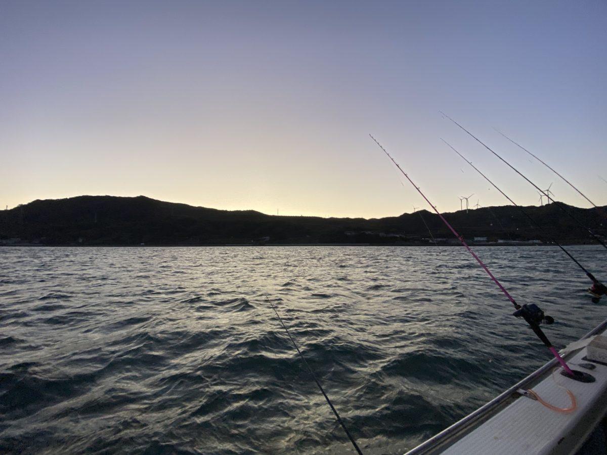 ウマヅラハギ釣りの竿(ロッド)
