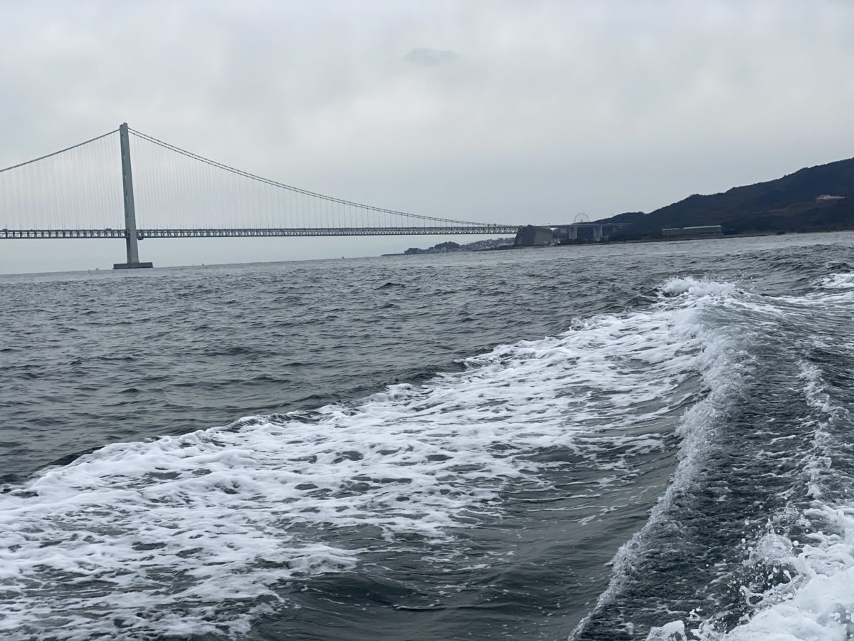 明石海峡大橋より西のポイント