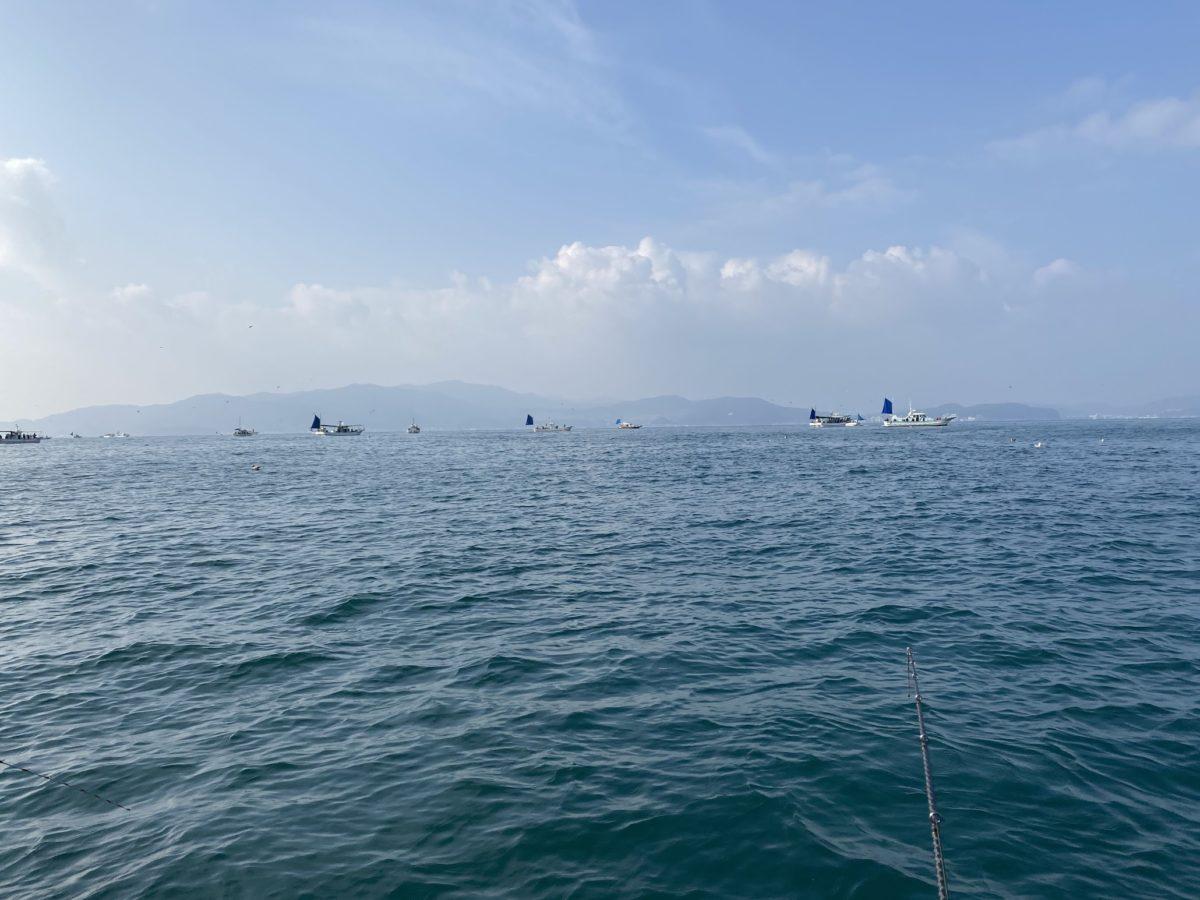 太刀魚船団