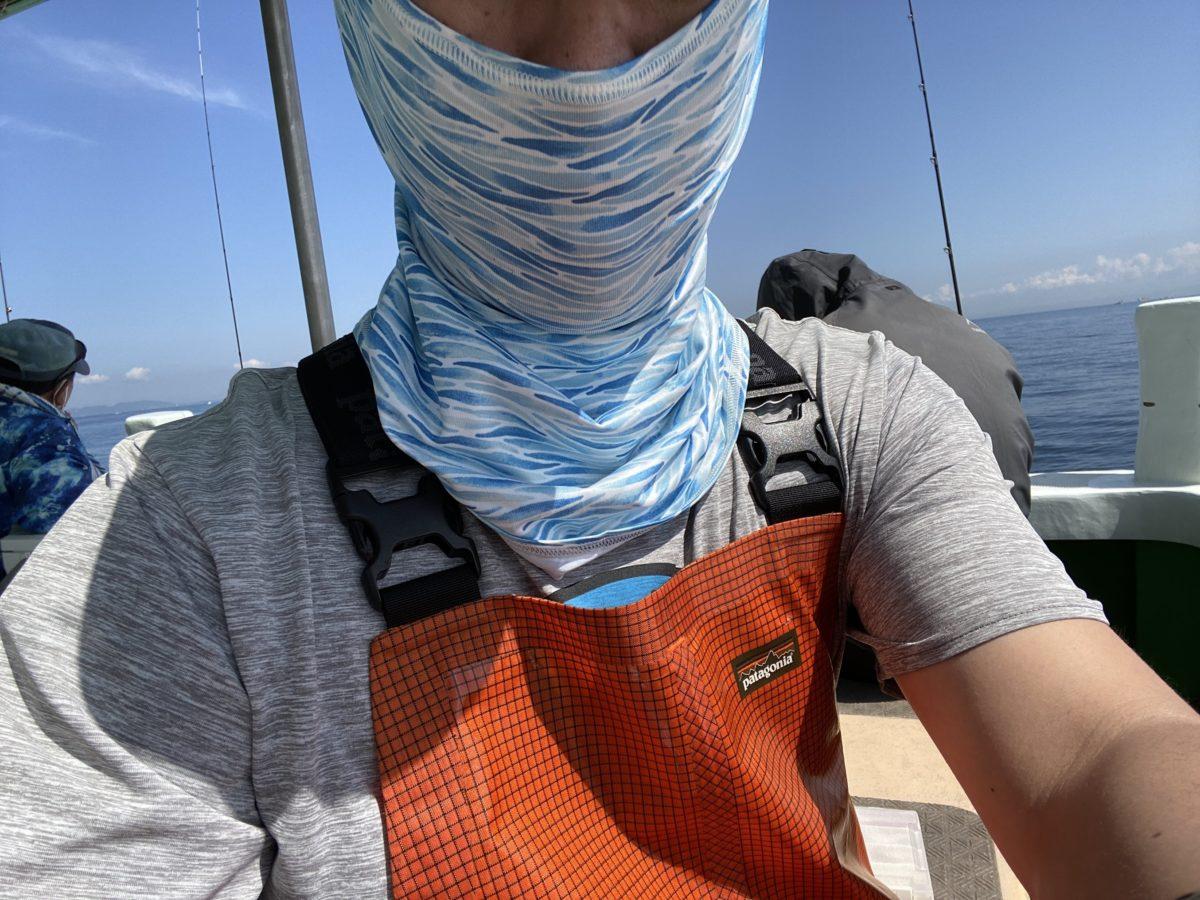 釣り用サンマスク
