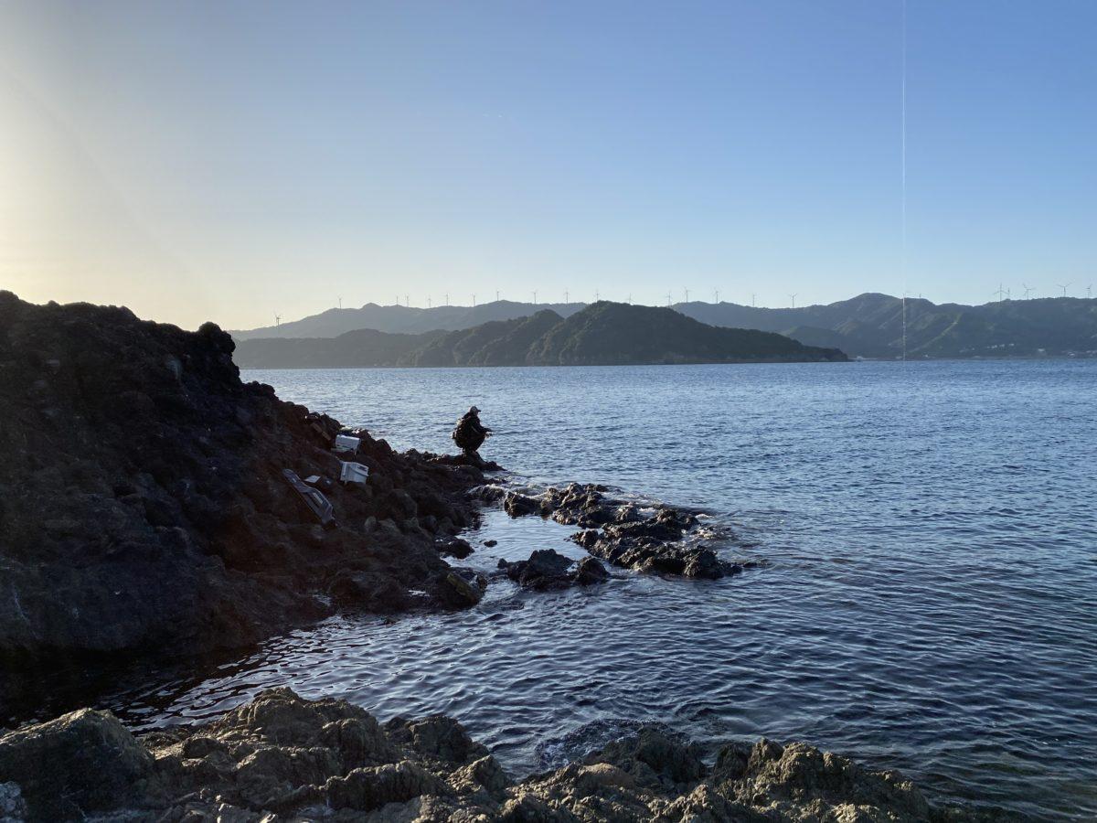 カルモ島の磯