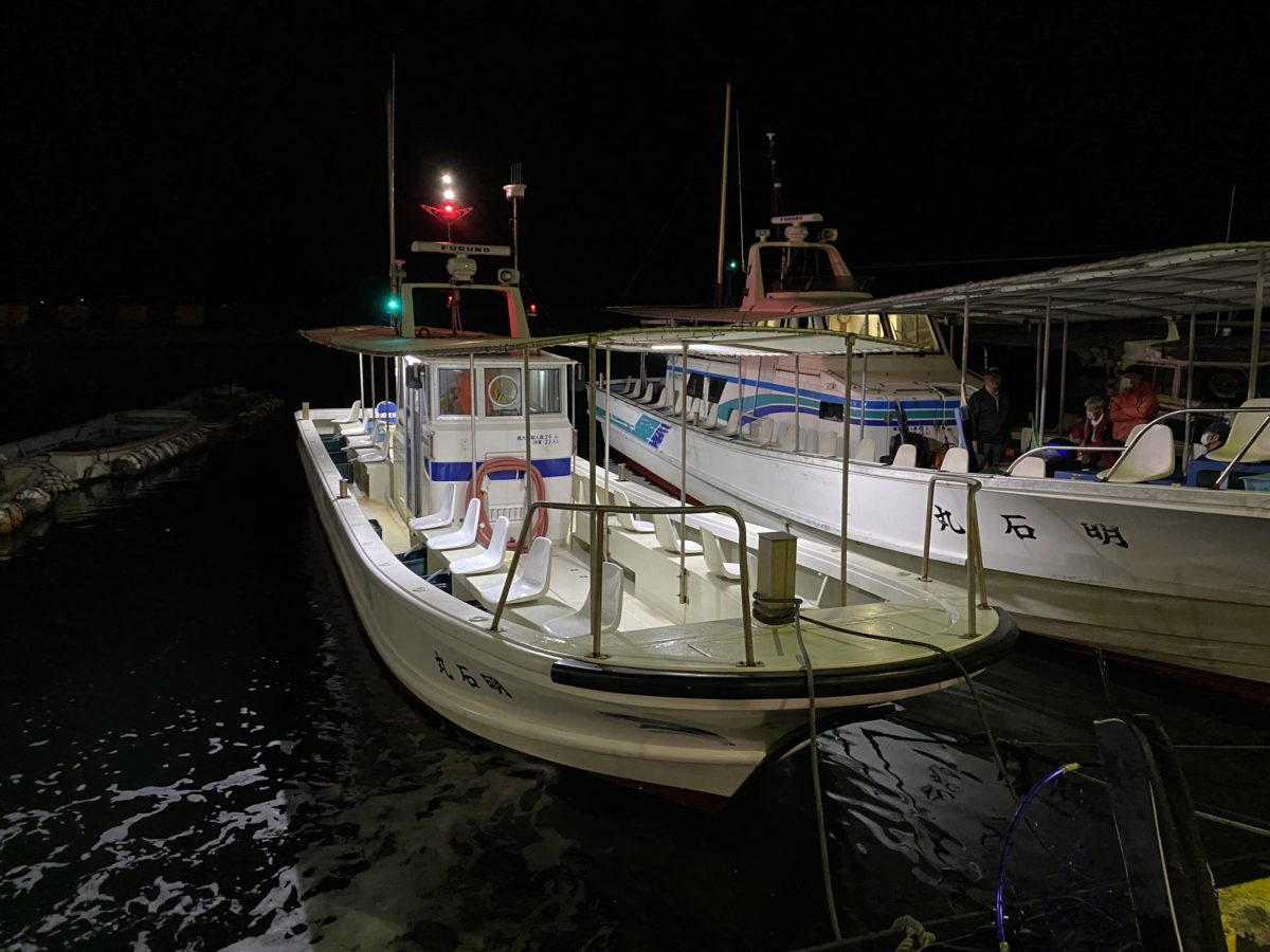釣り船「鍵庄」の中型船