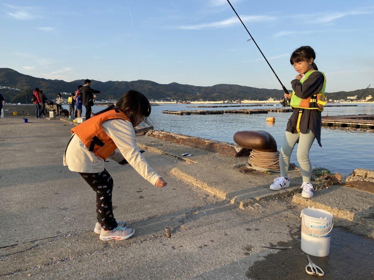 子供用の釣竿