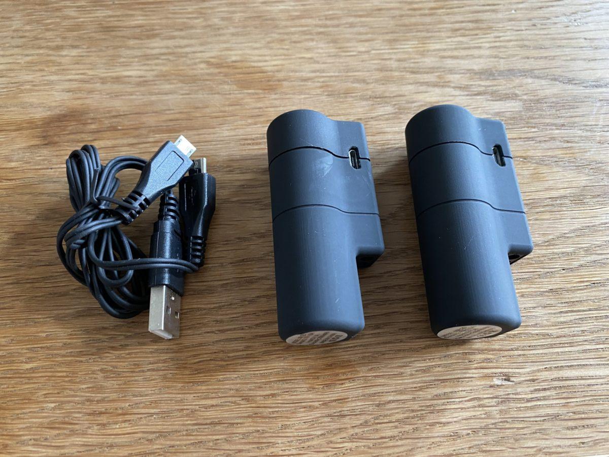靴下専用バッテリー