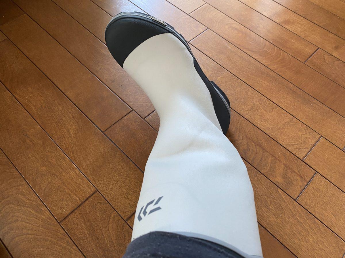 長靴と電熱ソックス